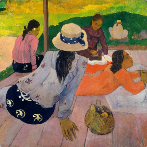 Paul Gauguin. Die Siesta. 1892/94